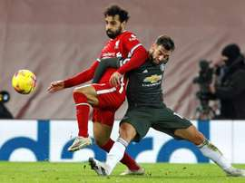 Man Utd retain top spot after Liverpool stalemate. AFP