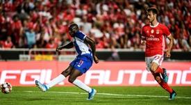 Imagem da partida entre Oporto e Benfica do dia 09-02-20. AFP