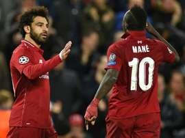 Liverpool se rend à Belgrade. AFP