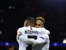 Mbappé può saltare la gara contro il Lille. AFP