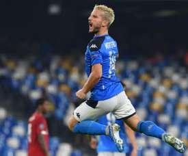 L'attaccante del Napoli Mertens.