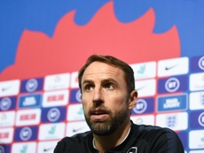 Southgate did not want to carry on the racism debate. AFP