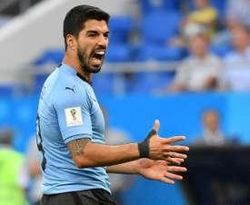 Suárez a récupéré son instinct de buteur. AFP