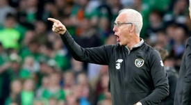 Mick McCarthy has left the Ireland post earlier than planned. AFP