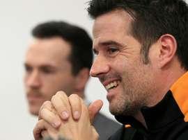 Até a imprensa inglesa já se rendeu a Marco Silva e à sua performance com on Hull. AFP