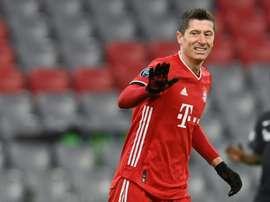 Le Bayern Munich sans Lewandowski à Madrid ? AFP