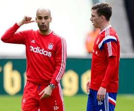 Pierre-Emile Hojbjerg played for him at Bayern Munich. AFP