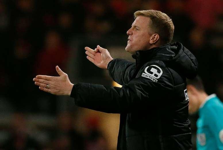 Howe's Bournemouth beat Chelsea at Stamford Bridge last season. AFP