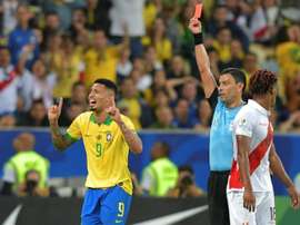 Brazil's Jesus gets two-month international ban. AFP