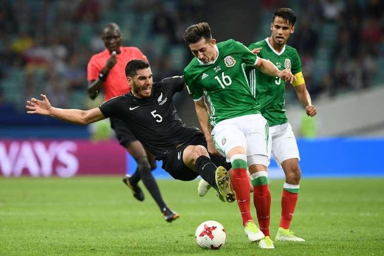 Héctor Herrera salió a defender a la Selección Mexicana. AFP