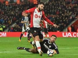 Austin in action against West Brom in 2017. AFP