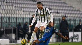 Ronaldo double lifts Juve. AFP