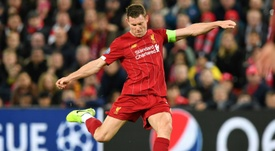 Liverpool very close to renewing Milner's contract. AFP