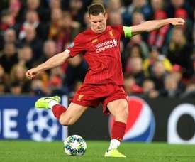 Milner estaria pensando em voltar ao Leeds. AFP