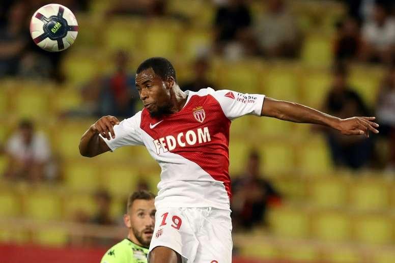 Monaco's French defender Djibril Sidibe has joined Everton. AFP