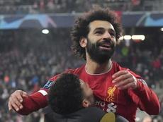 Liverpool survive Salzburg test to reach last 16. AFP