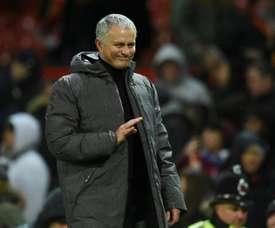Mourinho planea movimientos en el mercado invernal. AFP