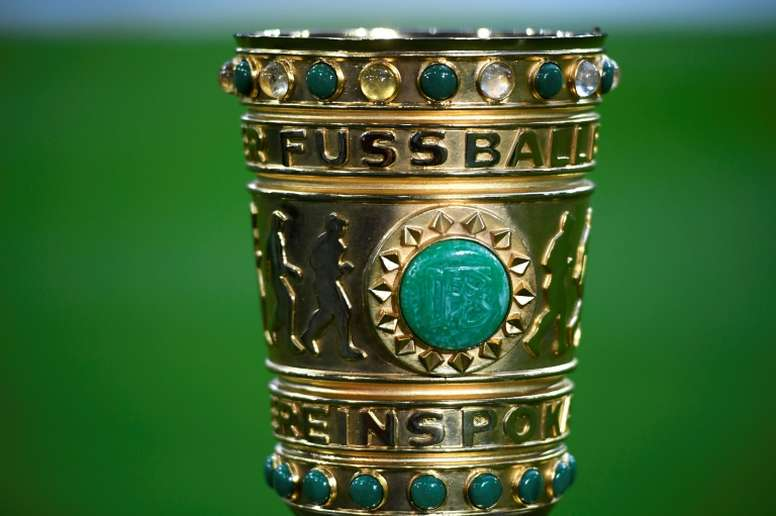 Up to 1000 fans could be allowed at the DFB Pokal final. AFP