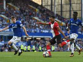 Redmond's strike looked to have earned his side the win. AFP