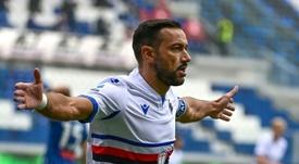 La Sampdoria agrava la herida de un Udinese en urgencias. AFP
