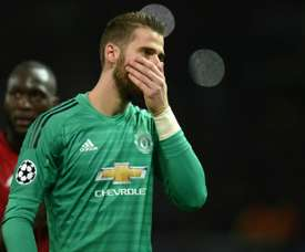 De Gea has been let down by his defence this year. AFP