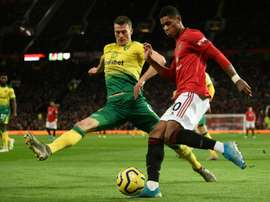 Darmian believes Rashford is at Mbappé's level. AFP