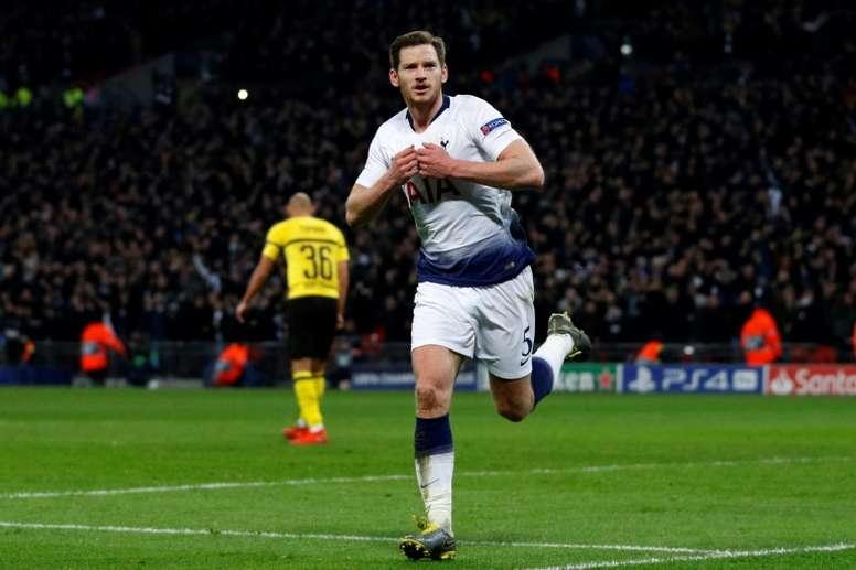 El Tottenham le mete 3-0 al Borussia. AFP