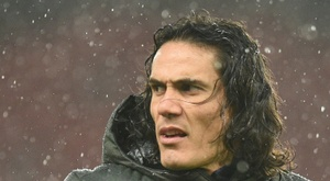 Edinson Cavani made his debut for Manchester United against Chelsea. AFP