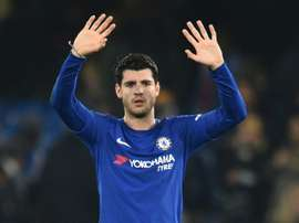 Morata pediu desculpa depois de um mal entendido no jogo frente ao Burnley.EFE