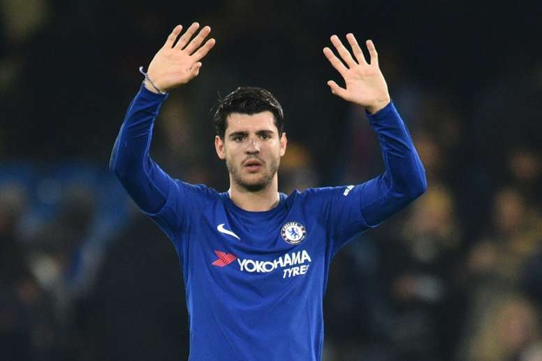 Morata not ruling it out. AFP