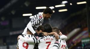 Man Utd targeting 'upset' win at Liverpool. AFP