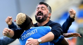 Osimhen può saltare il Napoli. AFP