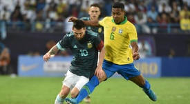 Brasil, a olvidar la derrota ante Argentina. AFP