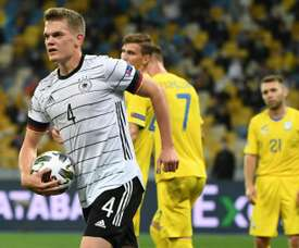 Matthias Ginter helped Germany win their first Nations League match ever. AFP