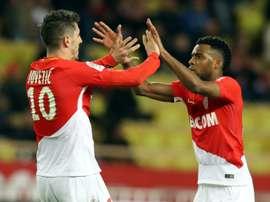 Report: Strasbourg 1 Monaco 3. AFP