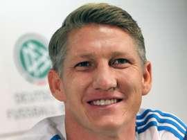 Bastian Schweinsteiger podría haber costado mucho menos de 21 millones de euros. AFP