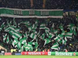 El Celtic estará en la próxima fase de grupos de la Champions League. AFP/Archivo