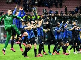 L'Atalanta est un des clubs qui pourraient souffrir de ces mesures. AFP