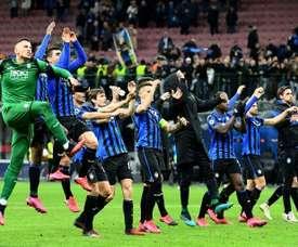 L'Atalanta sfiderà il PSG ai quarti. AFP