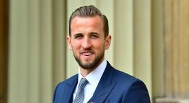 Kane, Membro da Ordem do Império Britânico. AFP