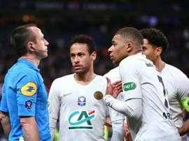 França está preocupada com as atitudes de Mbappé. AFP