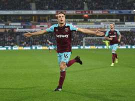 Noble has been a mainstay in West Ham's side for over a decade. AFP