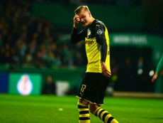 Erling Braut Haaland has scored eight goals in four appearances for Borussia. AFP