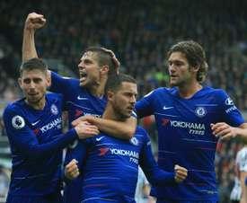 Sarri cree que Hazard lo tiene todo para hacerse un nombre en el Chelsea. AFP