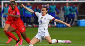 Rapinoe praises US men in support for equality fight