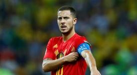 Hazard restera à Chelsea. AFP
