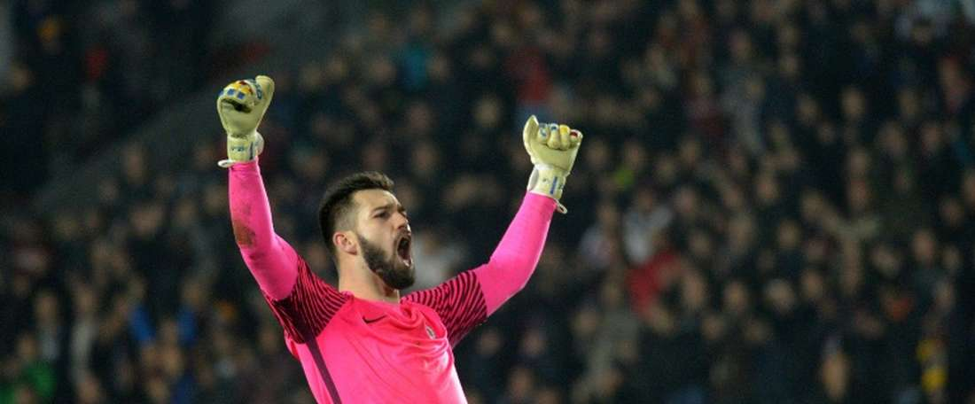 Czech international goalkeeper Tomas Koubek has joined Rennes. AFP