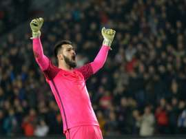 Czech international goalkeeper Tomas Koubek has joined Rennes. AFP