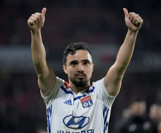 Rafael da Silva has extended his stay with Lyon until 2021. AFP