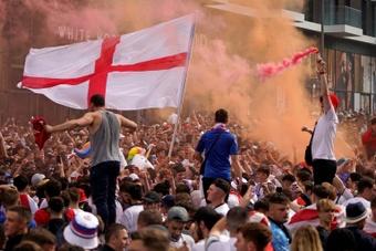 La mayoría de los aficionados, a favor de un Mundial cada dos años. AFP